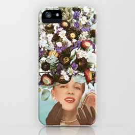 Floral Fashions III iPhone Case