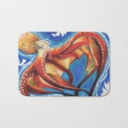 Reaching Octopus Bath Mat