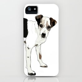 Jack Russell Terrier Dog iPhone Case
