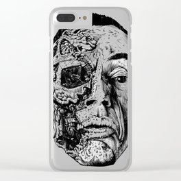 Look at me (aka gus) Clear iPhone Case