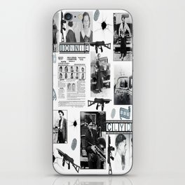 Bonnie And Clyde iPhone Skin