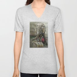 Taming the Wild Unisex V-Neck