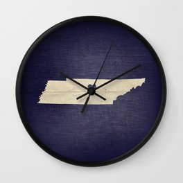 Nashville, Tennessee Wall Clock