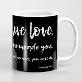 Live Love Coffee Mug