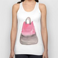 tote bag Tank Tops featuring Tote 3 by ©valourine