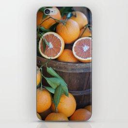 Juicy Citrus iPhone Skin