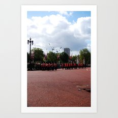 Soldiers March 5 Art Print