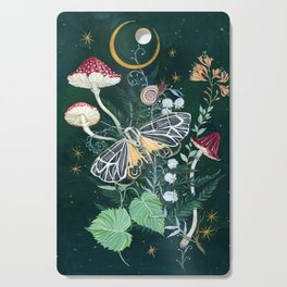 Mushroom night moth Cutting Board