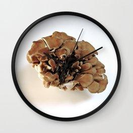 Maitake Mushroom Wall Clock
