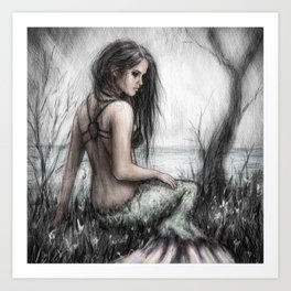 Mermaid's Rest Art Print