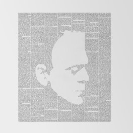 Frankenstein - The Modern Prometheus Throw Blanket