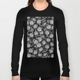Kettlebells B&W Long Sleeve T-shirt