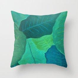 Collard Greens Throw Pillow