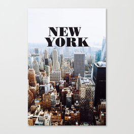 Hello, New York! Canvas Print