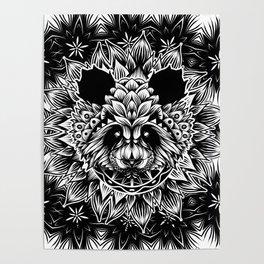 Panda Pattern Poster