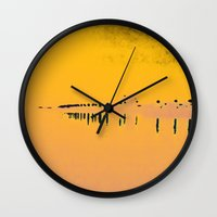 photograph Wall Clocks featuring Photograph by Tobias Bowman