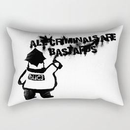 All Cops Rectangular Pillow
