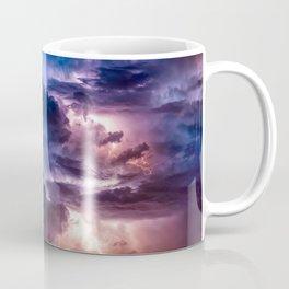 Neon Thunderstorm Coffee Mug