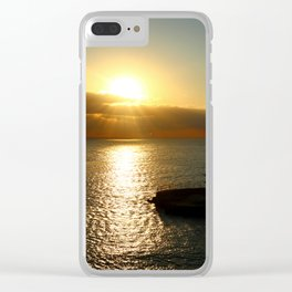 A New Day Has Broken Clear iPhone Case