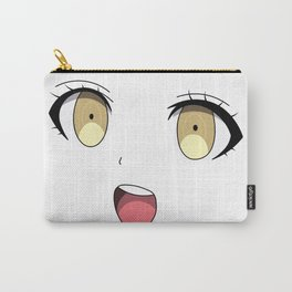 Anime Face Carry-All Pouch