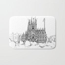 Fine Point_Sagrada Família_Barcelona Bath Mat