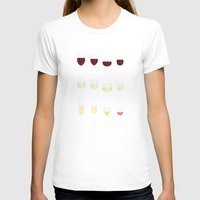 wine T-shirts featuring Wine by Sara Showalter