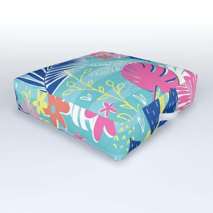 Tropical Vibes Outdoor Floor Cushion
