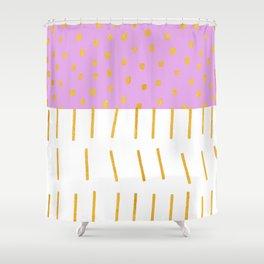 AZTEC BABE - Modern Pink Furniture Shower Curtain