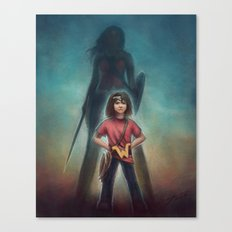 She's Got Your Back Canvas Print