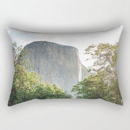 The mountain rock Rectangular Pillow