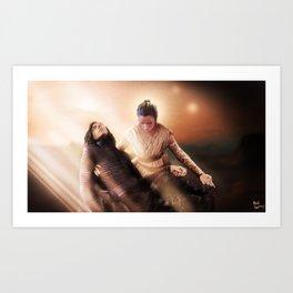 The Pieta Art Print