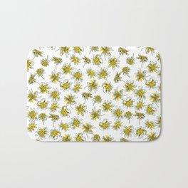 Manx Flora #3 - Scruffy Yellow Bath Mat