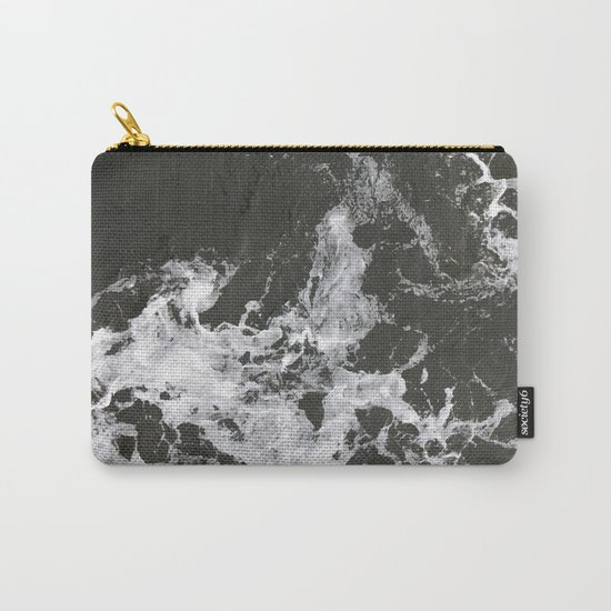 Black Water + Marble #society6 #decor #buyart Carry-All Pouch