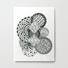 Spacial Metal Print