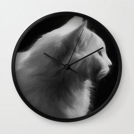 Cat 2 #painting Wall Clock