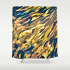 BOLD ABSTRACT Shower Curtain