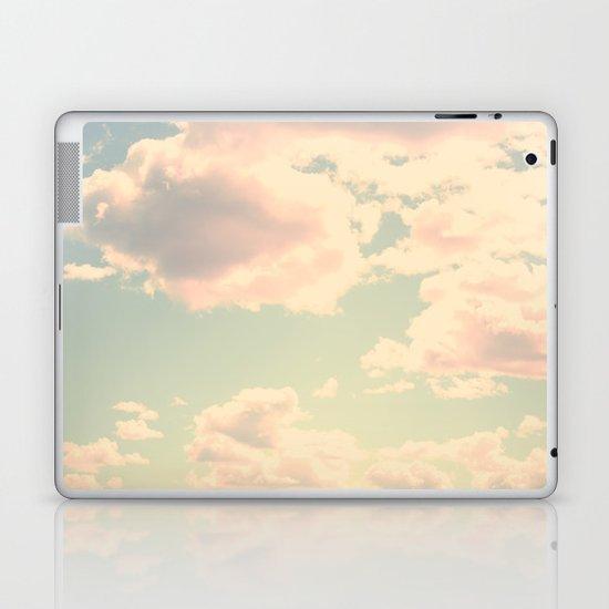 Barbe à Papa à la saveur du ciel Laptop & iPad Skin