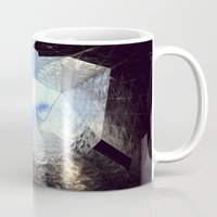 mirror Mugs featuring mirror by Nat Alonso