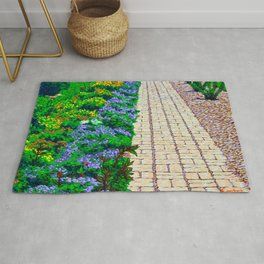 Garden Path At Colonial Williamsburg Rug