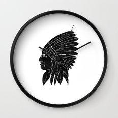 Chief / Black Edition Wall Clock