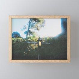 Tolkiens world Framed Mini Art Print
