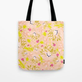 Energizing spring summer flowers Tote Bag