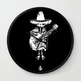 Guitar mariachi Wall Clock