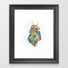 Skyspirit in a box Framed Art Print