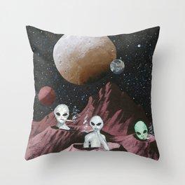 Star Blazin Throw Pillow