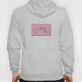 Rock On! Engagement Announcement Hoody
