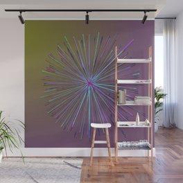 Purple Star Wall Mural