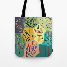 collage play Tote Bag
