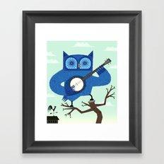 The Banjowl Framed Art Print
