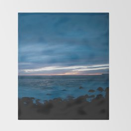 Magic Hour Morro Bay Throw Blanket